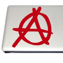 Anarchy Symbol Vinyl Decal  (FREE US Shipping) (For car, laptop, tablets etc)