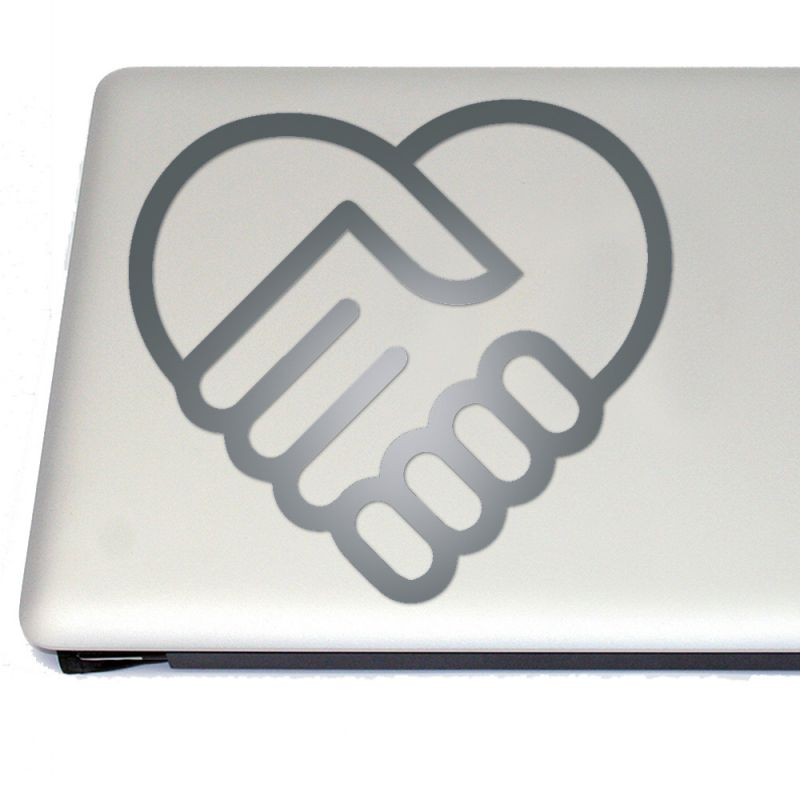 Friendship And Love Symbol Vinyl Decal