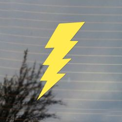 Lightning Bold Symbol Vinyl Decal