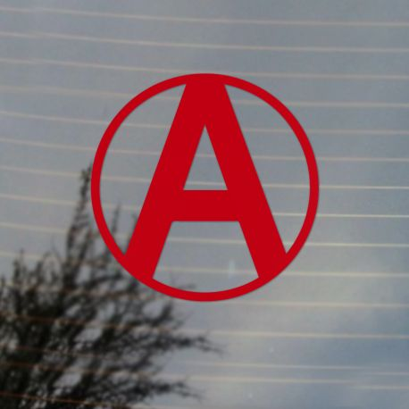 Neo Anarchy Vinyl Decal  (FREE US Shipping) (For car, laptop, tablets etc)