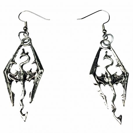 Norse Style Dragon Slayer Earrings