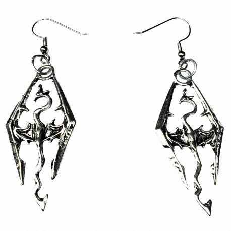 Norse Style Dragon Slayer Earrings