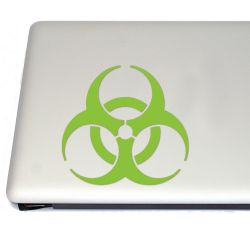 Biohazard Zombie Gaming Vinyl Decal (FREE US Shipping) (For car, laptop, tablets etc)