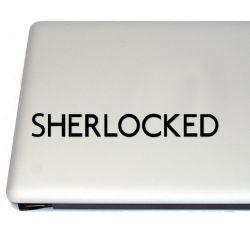 Sherlocked Sherlock Holmes Vinyl Decal Sticker (FREE US Shipping) (For car, laptop, tablets etc)
