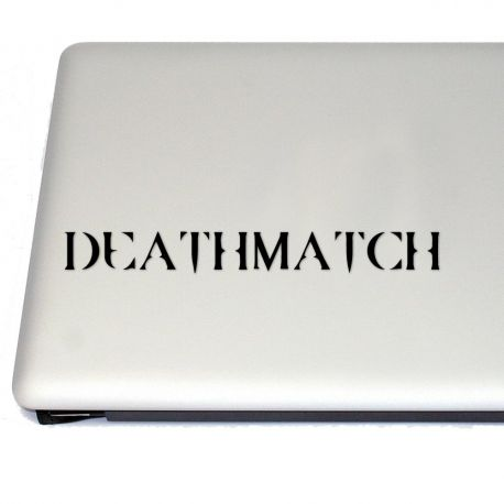 Deathmatch Runic  Gaming  Vinyl Decal (FREE US Shipping) (For car, laptop, tablets etc)
