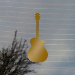 Guitar Music Vinyl Decal