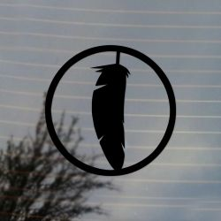 Feather Native Culture Vinyl Decal