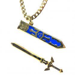 Legendary Master Warrior Gamer Sword Necklace