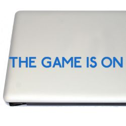 The Game is On Sherlock Vinyl Decal