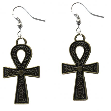 na earrings sterling style ster silver symbol dual aa anonymous