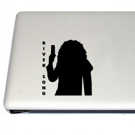 River Song Vinyl Decal Sticker (FREE US Shipping) (For car, laptop, tablets etc)