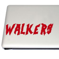 Dead Walkers Vinyl Decal Sticker (FREE US Shipping) (For car, laptop, tablets etc)
