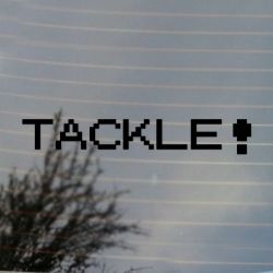 Tackle Pocket Vinyl Decal Sticker (FREE US Shipping) (For car, laptop, tablets etc)