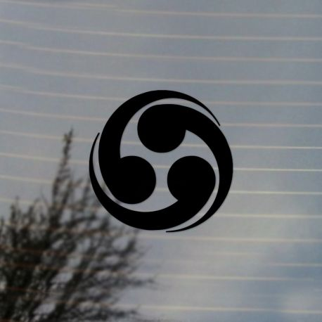 Japanese Taiko Drum Vinyl Decal Sticker (FREE US Shipping) (For car, laptop, tablets etc)