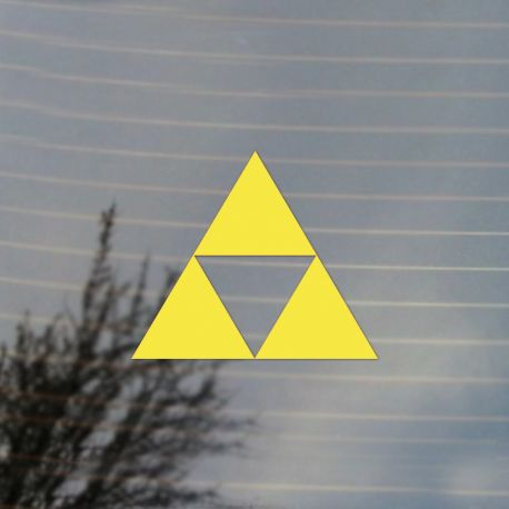 Gaming Triangle Vinyl Decal Sticker (FREE US Shipping) (For car, laptop, tablets etc)