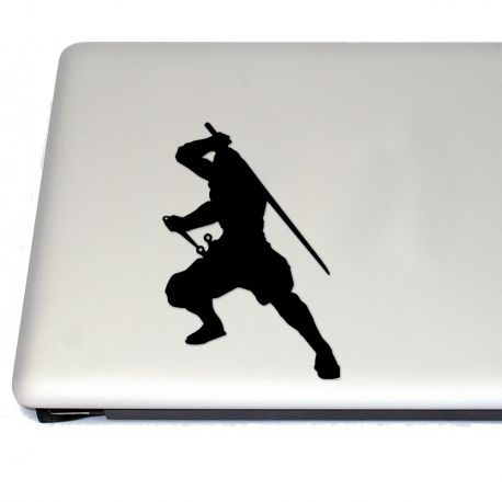 Japanese Ninja Vinyl Decal Sticker (FREE US Shipping) (For car, laptop, tablets etc)