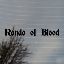 Rondo of Blood Vinyl Decal Sticker (FREE US Shipping) (For car, laptop, tablets etc)