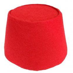 Red Cosplay Fez