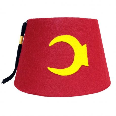 Granduncle Red Cosplay Fez (Crescent)