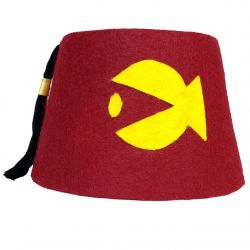 Granduncle Red Cosplay Fez (Fish)