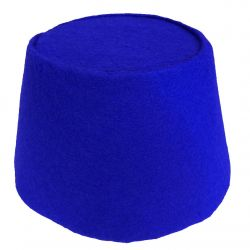 Blue Cosplay Fez