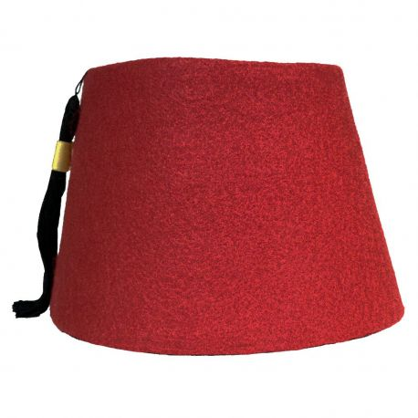 Burgundy Cosplay Fez with Tassel