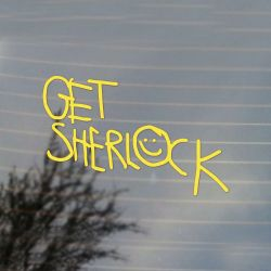 Get Sherlock Moriarty Vinyl Decal (FREE US Shipping) (For car, laptop, tablets etc)