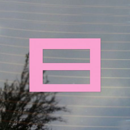 Equality LGBT Flag Pride Vinyl Decal Sticker (FREE US Shipping) (For car, laptop, tablets etc)