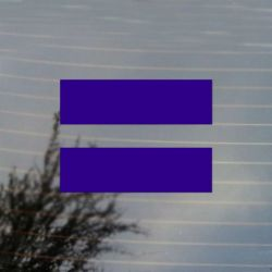 Equality Equal LGBT Sign Pride Vinyl Decal Sticker (FREE US Shipping) (For car, laptop, tablets etc)