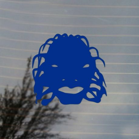 Face of Boe Vinyl Decal Sticker (FREE US Shipping) (For car, laptop, tablets etc)