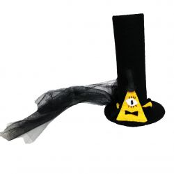 Magic Evil Triangle Eye of Providence Cosplay Top Hat