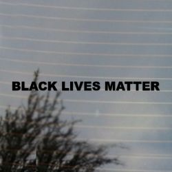 Black Lives Matter Black Pride Vinyl Decal Sticker (FREE US Shipping) (For car, laptop, tablets etc)