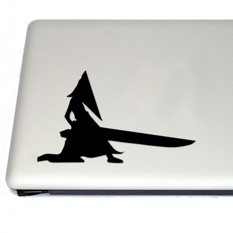 Pyramid head gaming vinyl decal sticker free us shipping for car laptop tablets etc