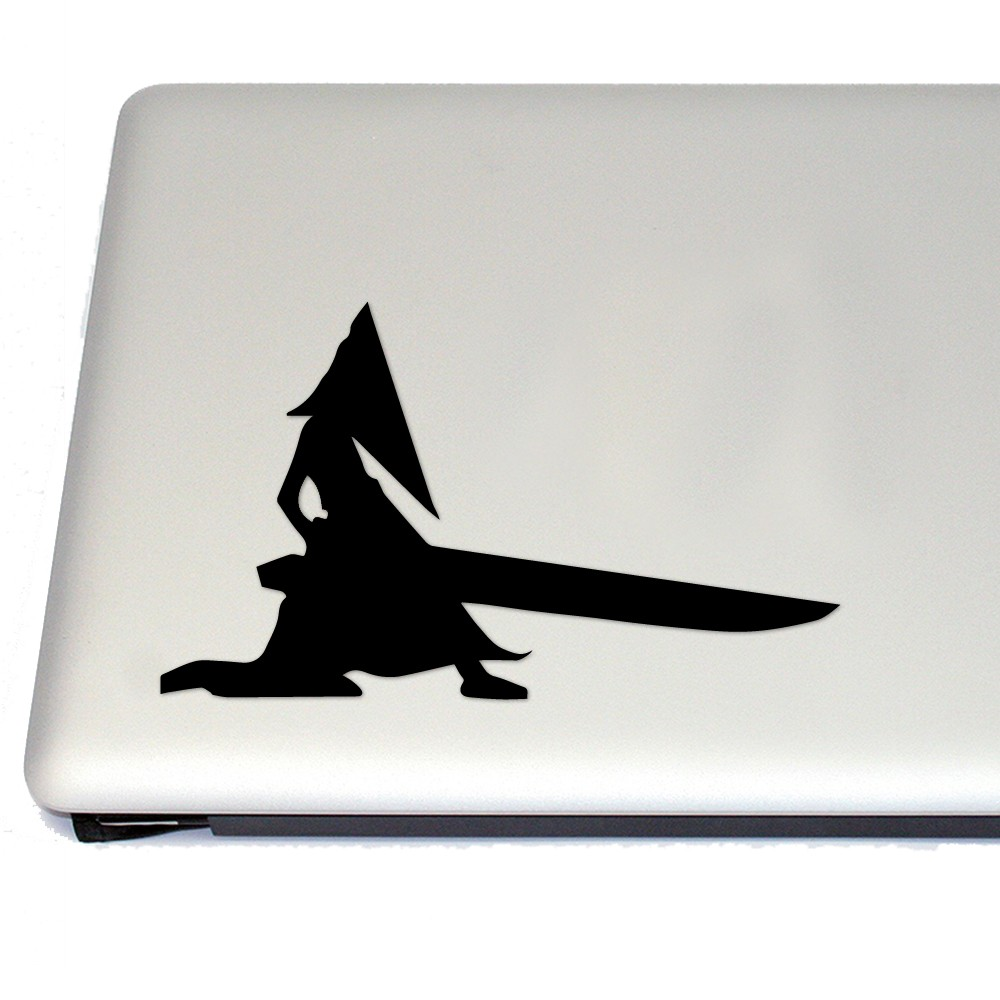 Pyramid head gaming vinyl decal sticker free us shipping for car laptop tablets etc jpg