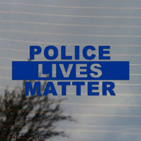 Police Lives Matter Pride Activism Vinyl Decal Sticker (FREE US Shipping) (For car, laptop, tablets etc)