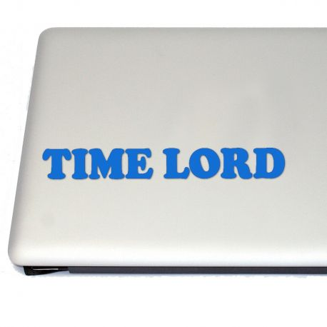 Time Lord Vinyl Decal Sticker (FREE US Shipping) (For car, laptop, tablets etc)
