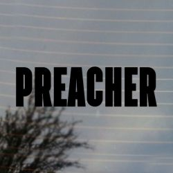 Preacher Comic Book Vinyl Decal Sticker (FREE US Shipping) (For car, laptop, tablets etc)