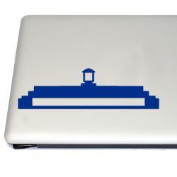 Tardis Top Vinyl Decal Sticker (FREE US Shipping) (For car, laptop, tablets etc)