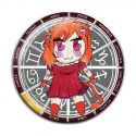Original Chibi Horoscope Zodiac Leo Button Badge