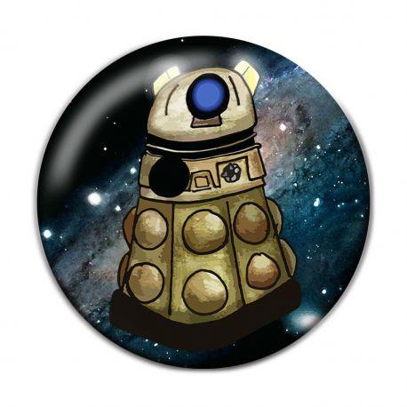Kawaii Alien Exterminators Pinback Button Badge