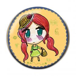 Lolita Country Pinback Button Badge