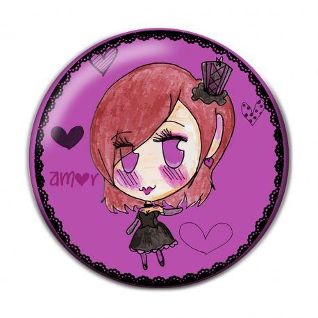 Lolita Eros Pinback Button Badge