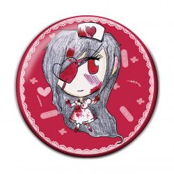 Lolita Guro Pinback Button Badge