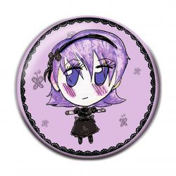 Lolita Kuro Pinback Button Badge