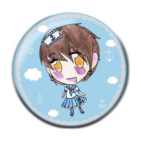 Lolita Sailor Button Badge
