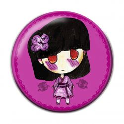 Lolita Wa Pinback Button Badge