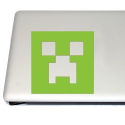Mining Creep Head Vinyl Decal (FREE US Shipping) (For car, laptop, tablets etc)