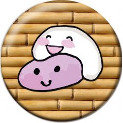 Kawaii Mochis Pinback Button Badge