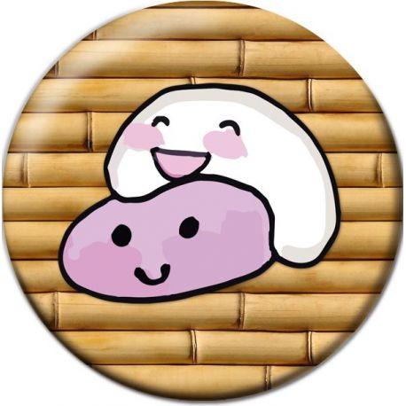 Kawaii Mochis Pinback Button Badge