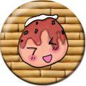 Kawaii Takoyaki Pinback Button Badge